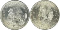 5 Pesos 1947 Mexiko Herscher Cuauhtémoc f....