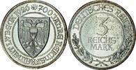 3 RM 1926 Deutschland 700 Jahre Reichsfrei...
