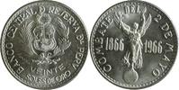20 Soles 1966 Peru 100. Jahrestag der Sees...