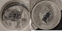 2 Dollar 2010 Fiji 2 $ Schildkröte st, mit Zertifikat  38,00 EUR  +  10,00 EUR shipping