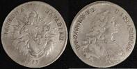 1/2 Taler 1753 Bayern Max III. Joseph (174...