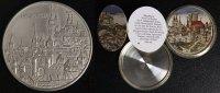Schraub-Medaille 1990 Nürnberg Auf die Chronik von Hartmann Schedel vz-... 110,00 EUR  zzgl. 5,00 EUR Versand