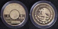 250 Pesos 1986 Mexiko Fußball-WM ´86 PP*  370,00 EUR kostenloser Versand