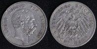 5 Mark 1900 E Sachsen Albert f.ss/kl.Rf.  65,00 EUR  zzgl. 5,00 EUR Versand