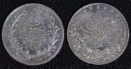 2 Qirsh 1293/24 1898 Ägypten Abdul Hamid II. - E. Weigand ss+/kl.Kr.  11,00 EUR  +  10,00 EUR shipping