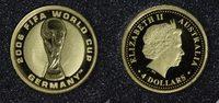 4 Dollars 2006 Australien Fußball-Weltmeisterschaft 2006 in Deutschland... 65,00 EUR  +  10,00 EUR shipping