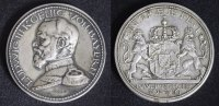 Steckmedaille 1916 Bayern Ludwig III. - selten in Silber vz/Rf./l.fl.  250,00 EUR  zzgl. 5,00 EUR Versand