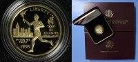 5 Dollar 1995 USA Olympia Atlanta - Fackelläufer PP*/OVP  390,00 EUR kostenloser Versand