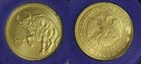 25 Rubel 2003 Russland Stier - Sternzeichen/ Tierkreiszeichen - Gold   420,00 EUR kostenloser Versand