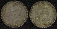 2/3 Taler 1805 Braunschweig-Calenberg-Hannover Georg III. ss-vz/kl.Kr. ... 140,00 EUR  zzgl. 5,00 EUR Versand