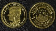 20 Dollars 1995 Liberia Kennedy - Gold PP*  58,00 EUR  +  10,00 EUR shipping