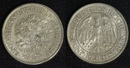 5 Mark 1928 F Weimarer Republik Eichbaum ss-vz/kl. Schrötlingsfehler  150,00 EUR  +  10,00 EUR shipping