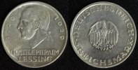 5 Mark 1929 D Weimar Lessing gutes ss/kl.Fleck  95,00 EUR  +  10,00 EUR shipping
