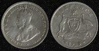 6 Pence 1918 Australien Georg V. - selten f.ss  13,00 EUR  +  10,00 EUR shipping