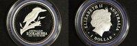 1 Dollar 2002 Australien 1 $ Kookaburra 2002 PP PP  50,00 EUR  +  10,00 EUR shipping