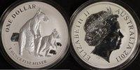 1 Dollar 2011 Australien Känguru st  40,00 EUR  +  10,00 EUR shipping