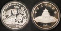 50 Yuan 1991 China Panda st  400,00 EUR  +  10,00 EUR shipping