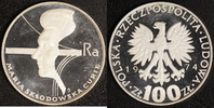 100 Zloty 1974 Polen Curie P.P.  15,00 EUR  +  10,00 EUR shipping