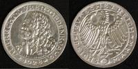3 Mark 1928 Weimar A. Dürer vz, kl.Rf.