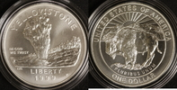 1 Dollar 1999 USA Yellostone National-Park st / OVP/ Zert./ Etui  150,00 EUR  +  10,00 EUR shipping