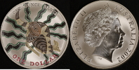 1 Dollar 2002 Australien Känguru vz-st, coloriert  80,00 EUR  +  10,00 EUR shipping