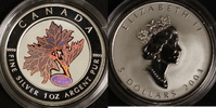 5 Dollars 2003 Canada Maple Leaf Kinegramm P.P.  50,00 EUR  +  10,00 EUR shipping