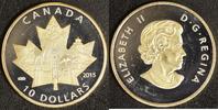 10 Dollar 2015 Kanada Celebrating PP, teilvergoldet  30,00 EUR  +  10,00 EUR shipping