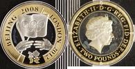 2 Pfund 2008/12 England Olympiade Beijing 2008 PP  15,00 EUR  +  10,00 EUR shipping