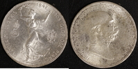 5 Kronen 1908 Österreich Franz Joseph I., Reg. Jubiläum vz  50,00 EUR  +  10,00 EUR shipping