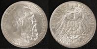3 Mark 1911 Bayern Prinzregent Luitpold vz  20,00 EUR  +  10,00 EUR shipping