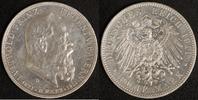 5 Mark 1911 Bayern Prinzregent Luitpold ss-vz, Kratzer  70,00 EUR  +  10,00 EUR shipping