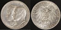 3 Mark 1910 Sachsen-Weimar-Eisenach Feodora ss-vz  60,00 EUR  +  10,00 EUR shipping