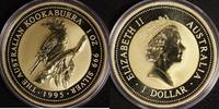 1 Dollar 1995 Australien 1 $ Kookaburra 1995 st, vergoldet st, vergoldet  30,00 EUR  +  10,00 EUR shipping