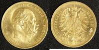 10 Mark 1873 A Preußen Wilhelm I. vz-st  290,00 EUR  +  10,00 EUR shipping