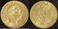 20 Mark 1888 Preußen Wilhelm II. ss, Rf.  320,00 EUR  +  10,00 EUR shipping
