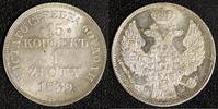 15 Kopeken-1 Zloty 1839 Mw-War Russland Ni...