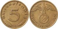 5 Pfennig 1936 A d 1936A ss/vz ss  /  vz  105,00 EUR  +  8,50 EUR shipping