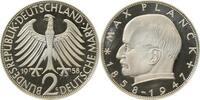 2 DM 1958 G d Max Planck 1958G PP 45 Ex !!! PP  875,00 EUR  +  8,00 EUR shipping