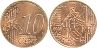 d 10C. 2005 Frankr. a. 2 Cnt Rohling Rille !!!!   360,00 EUR  +  8,00 EUR shipping