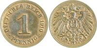 1 Pfennig 1910 G  1910G vz/st vz/st