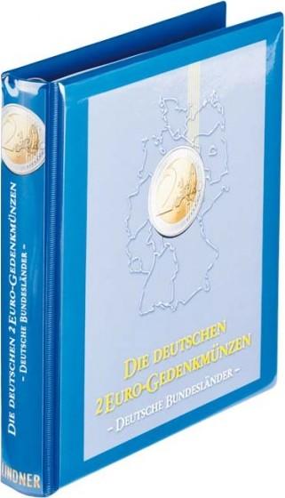 Vordruckalbum 2 Euro Gedenkmünzen Serie Deutsche Bundesländer