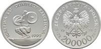 200.000 Zlotych 1992. POLEN  Polierte Platte.