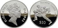 10 Dollars 1993. FIDSCHI INSELN Elizabeth ...