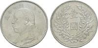 Dollar Jahr 9 (192 CHINA  Fast Stempelglan...
