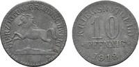 10 Pfennig 1918 BRAUNSCHWEIG  Fast vorzüglich