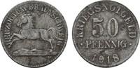 50 Pfennig 1918. BRAUNSCHWEIG  Flecken. Se...