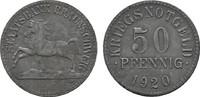 50 Pfennig 1920. BRAUNSCHWEIG Staatsbank L...