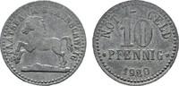 10 Pfennig (Zink) 1920. BRAUNSCHWEIG Staat...