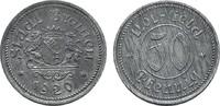 50 Pfennig 1920. BREMEN  Leichte Patina. V...