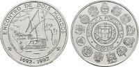 1000 Escudos 1992. PORTUGAL  Polierte Platte